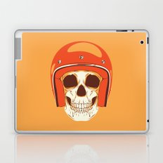 Helmet Skull Laptop & iPad Skin