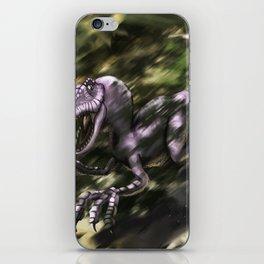 Brave Lizard iPhone Skin