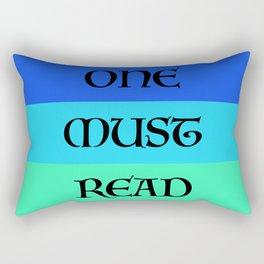 ONE MUST READ Rectangular Pillow