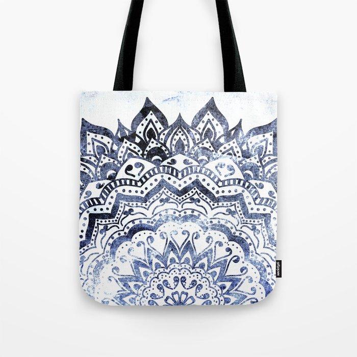 BLUE ORION JEWEL MANDALA Tote Bag