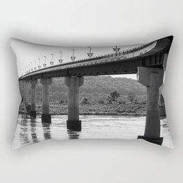 Under the Big Dam Bridge Rectangular Pillow