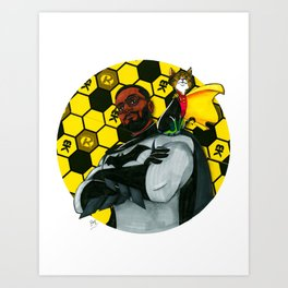 Bokman & Robin Art Print