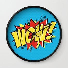 WOW POP ART Wall Clock