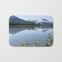 Placer River at the Bend in Turnagain Arm, No. 1 Bath Mat