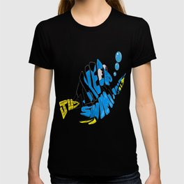 """just keep swimming"" (Finding Nemo- Dory) T-shirt"
