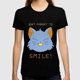 smile.cat (blue rawrsberry flavour) T-shirt