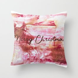 Merry Christmas 3 Throw Pillow