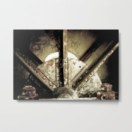 Metal Three Metal Print