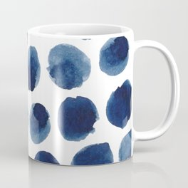 Watercolor polka dots Coffee Mug