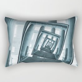 Stairs And Pillars Rectangular Pillow