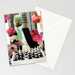 Beauty and Brains Stationery Cards