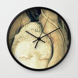 Nature & Buddha Wall Clock