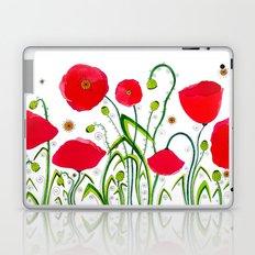 Flower#1 - Red Poppies Laptop & iPad Skin