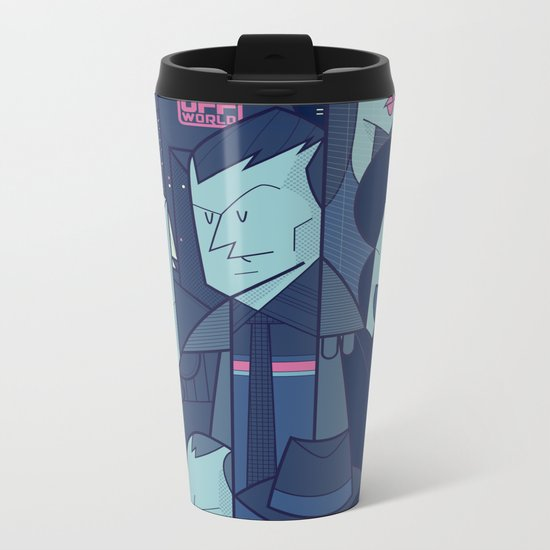 Blade Runner Metal Travel Mug