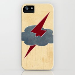 THUNDER CLOUD iPhone Case