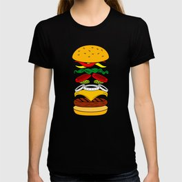 Burger Anatomy T-shirt