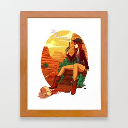 Red Death Framed Art Print