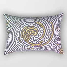 Whirlpool Mesmerize Bermuda Triangle Rectangular Pillow