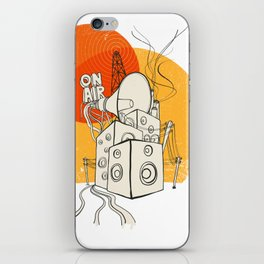 Radio Satla iPhone Skin