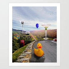 Roadside Attractions Art Print