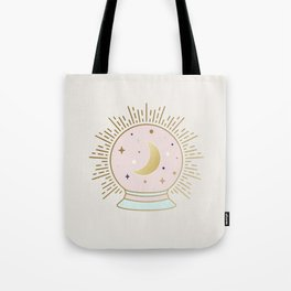 Magical Crystal Ball - tarot illustration Tote Bag