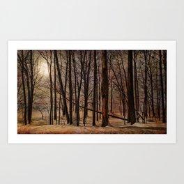 To My Tree Art Print