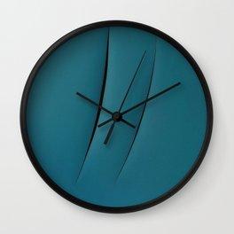 pantone - lucio fontana Wall Clock