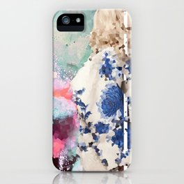 Crystal Explosions iPhone Case