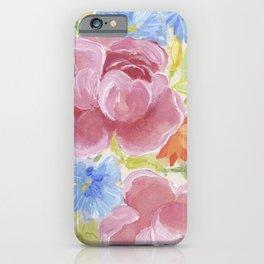 Pretty Bouquet iPhone Case