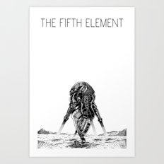 Movies we like - The Fifth Element Art Print