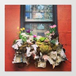 New York City Windowbox Canvas Print