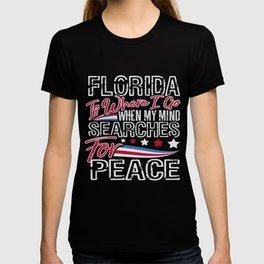 Florida American Patriotic Memorial Day T-shirt