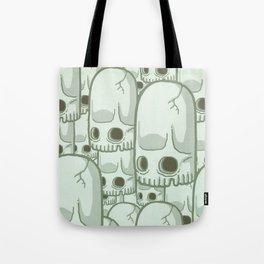 Skullbean Army Tote Bag