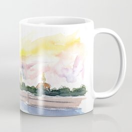 St Petersburg Russia Peter and Paul Fortress Coffee Mug
