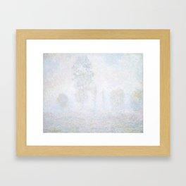 Morning Haze by Claude Monet Framed Art Print