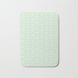 Hive Mind - Light Green #395 Bath Mat