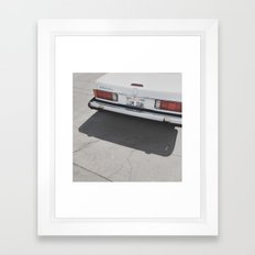 um duh Framed Art Print