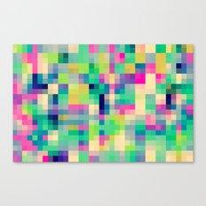 Pixeland Canvas Print
