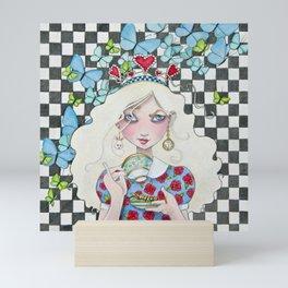 Not Everyone's Cup of Tea Mini Art Print