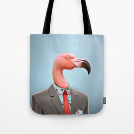 Pink Flamingo's Tote Bag