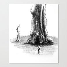 Sea Tree Canvas Print