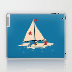 Sailing Towards Future Unknowns Laptop & iPad Skin
