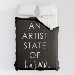 NY state of mind, Artist state of grind Comforters
