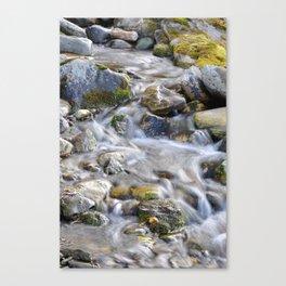 Mountains creek Canvas Print