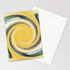 Spiral Rainbow Stationery Cards