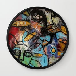 Curious Conjuring Wall Clock