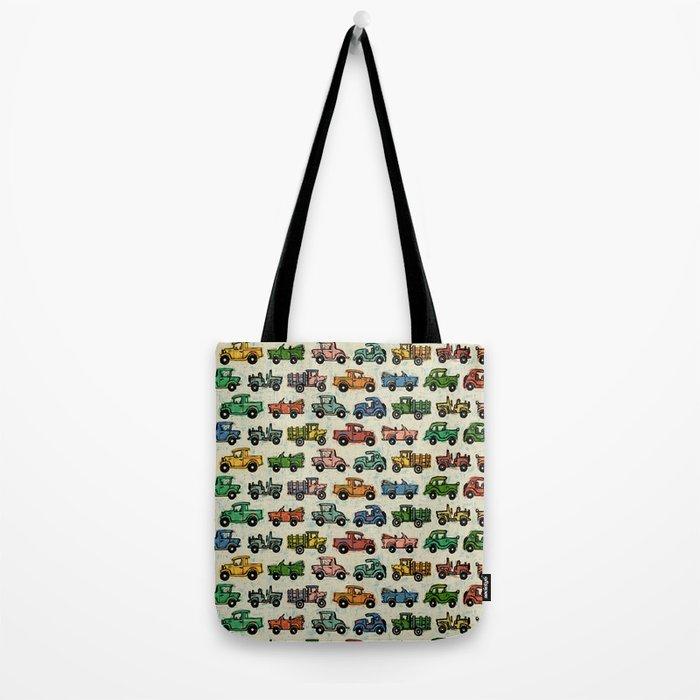 Cars and Trucks Tote Bag