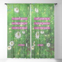Tender Mercies Sheer Curtain