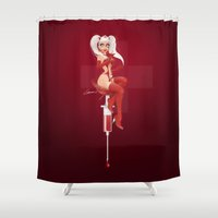 nurse Shower Curtains featuring Nurse Candy by irmino/Pin-oops !