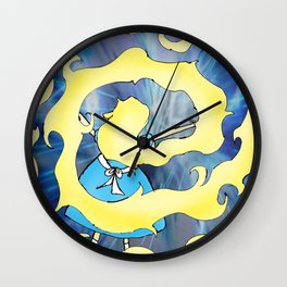 Time Vortex Wall Clock